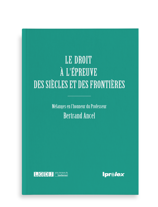 Mezclar en honor del profesor Bertrand Ancel